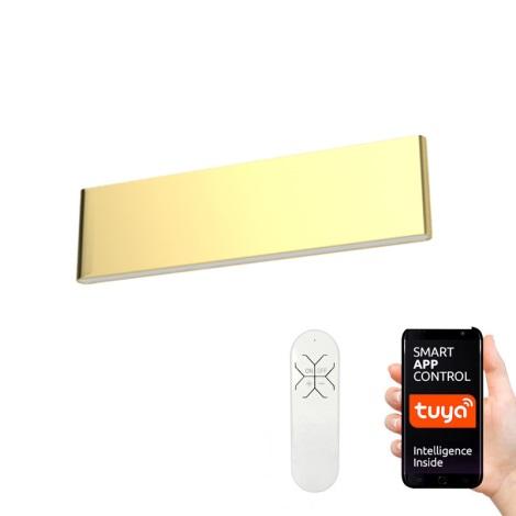 Aplică LED Immax Neo 07129L LISTON LED/18W/230V ZigBee aurie + telecomandă Tuya