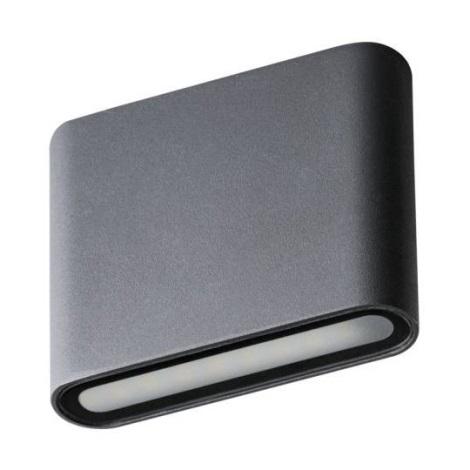 Aplică perete exterior LED GARTO LED/8W/230V grafit