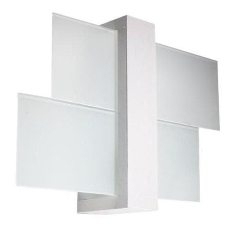 Aplică perete FENIKS 1 1xE27/60W/230V alb