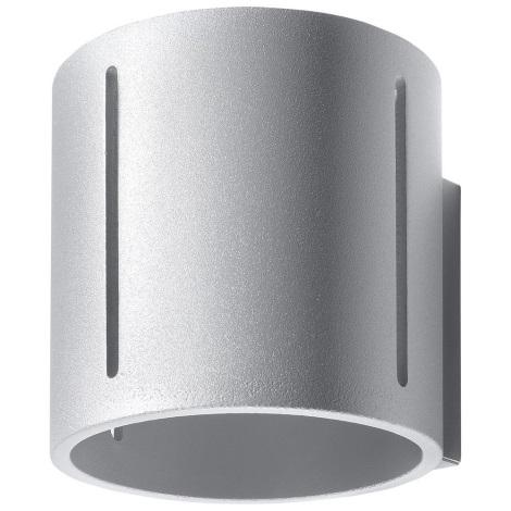 Aplică perete INEZ 1xG9/40W/230V gri