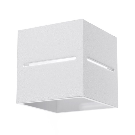 Aplică perete LOBO 1xG9/40W/230V alb
