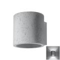 Aplică perete ORBIS 1xG9/40W/230V beton