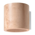 Aplică perete ORBIS 1xG9/40W/230V lemn