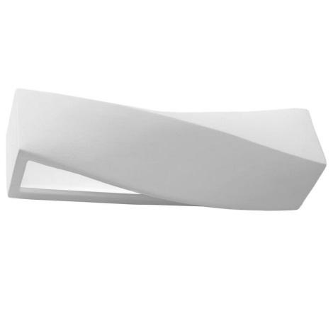 Aplică perete SIGMA 1xE27/60W/230V alb