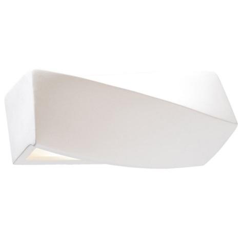 Aplică perete SIGMA MINI 1xE27/60W/230V alb