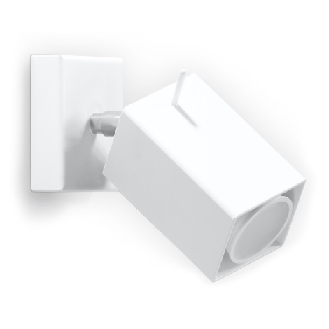 Aplică perete spot MERIDA 1xGU10/40W/230V alb