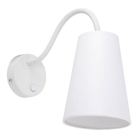 Aplica perete WIRE WHITE 1xE27/60W/230V
