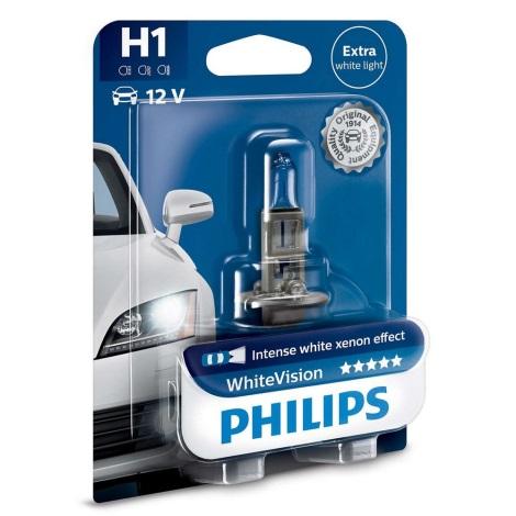 Bec auto Philips WHITE VISION 12258WHVB1 H1 P14,5s/55W/12V