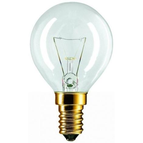 Bec de iluminare E14/60W transparent