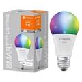 Bec de iluminare LED RGB SMART + E27/14W/230V 2.700K-6.500K - Ledvance