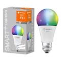 Bec de iluminare LED RGB SMART + E27/9W/230V 2.700K-6.500K - Ledvance