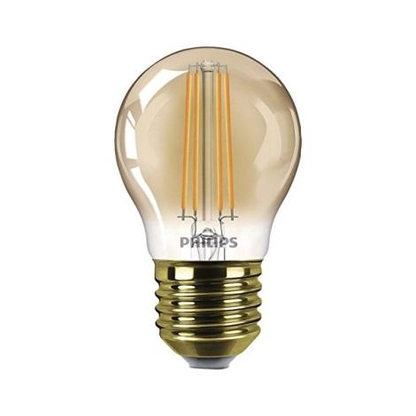 Bec dimmabil LED VINTAGE  E27/5W/230V - Philips