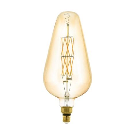 Bec dimmabil LED VINTAGE E27/8W/230V 2100K - Eglo 11838