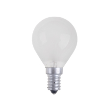 Bec industrial BALL FROSTED E14/60W/230V