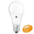 Bec LED cu senzor E27/8,5W/230V 2700K - Osram