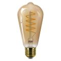 Bec LED dimabil Philips ST64 E27/5,5W/230V 2000K