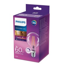 Bec LED dimmabil Philips E27/7W/230V 2700K
