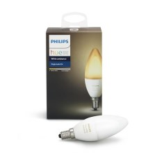 Bec LED dimmabil Philips HUE WHITE AMBIANCE E14/6W/230V