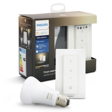 Bec LED dimmabil Philips HUE WHITE AMBIANCE E27/9,5W/230V