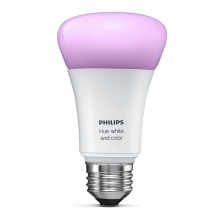 Bec LED dimmabil Philips HUE WHITE AND COLOR AMBIANCE 1xE27/10W/230V - 8718696592984