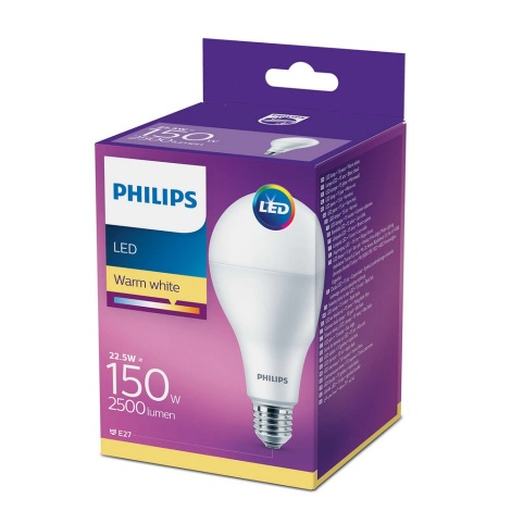 Bec LED E27/22,5W/230V 2700K - Philips