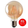 Bec LED LEDSTAR AMBER G95 E27/8W/230V