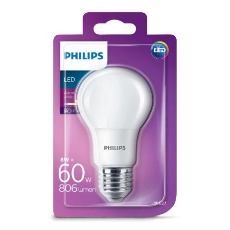 Bec LED Philips E27/8W/230V