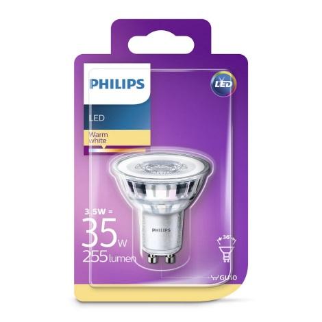 Bec LED Philips GU10/3,5W/230V
