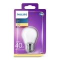 Bec LED Philips P45 E27/4,3W/230V 3000K