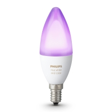 Bec LED RGB dimmabil Philips HUE WHITE AND COLOR AMBIANCE E14/6W/230V