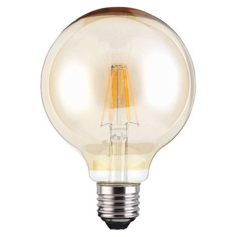 Bec LED VINTAGE G95 E27/4W/230V 400lm