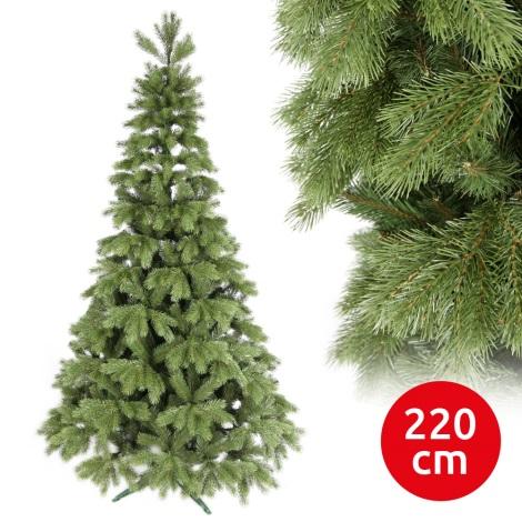 Brad de crăciun LIGHT 220 cm pin