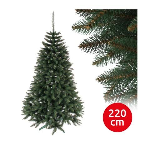 Brad de crăciun RUBY 220 cm molid