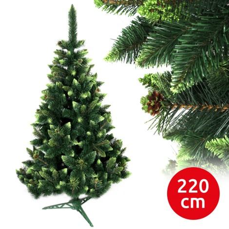 Brad de crăciun SAL 220 cm pin