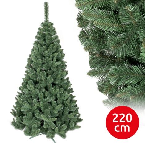 Brad de crăciun SMOOTH 220 cm pin