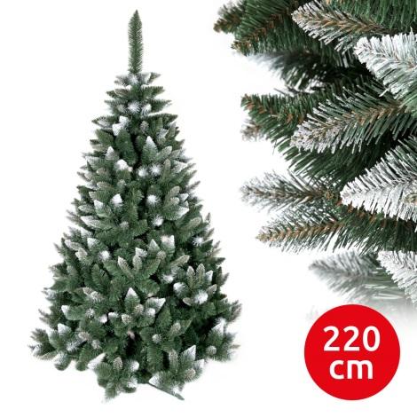 Brad de crăciun TEM I 220 cm pin