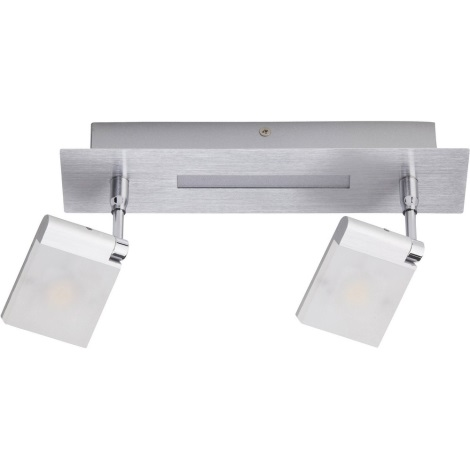Brilliant - Spot LED PLAXICO 2xLED/6W/230V
