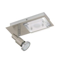 Briloner 2879-022 - LED Plafonieră COMBINATA 1xGU10/3W + LED/5W/230V