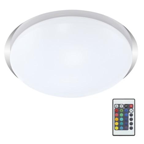 Briloner 3494-018 - LED Plafonieră cu telecomandă DRIVER 1xLED/12W/230V IP44