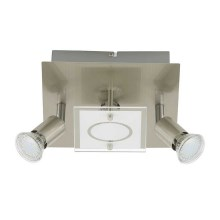 Briloner 3497-032 - Plafonieră LED START 3xGU10/3W/230V