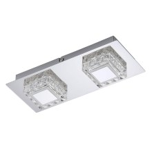 Briloner 3549-028 - Plafonieră LED NOBLE 2xLED/5W/230V