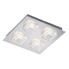 Briloner 3549-048 - Plafonieră LED NOBLE 4xLED/5W/230V