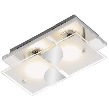 Briloner 3597-028 - Plafonieră LED TOM 2xGU10/3W/230V