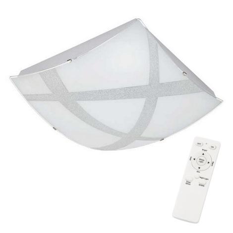 Briloner 3683-416 - LED Plafonieră dimmabilă AGILED LED/22W/230V + Telecomandă