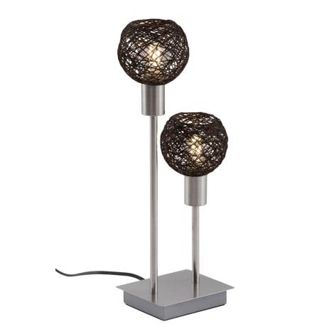 Briloner 7814-022 - Lampă de masă 2xE14/5,5W/230V