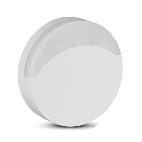 Corp de iluminat LED de veghe cu senzor SAMSUNG CHIP LED/0,5W/230V 65mm 3000K rotund