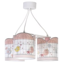 Dalber D-17284 - Lustră copii LITTLE BIRDS 3xE27/60W/230V