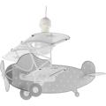 Dalber D-54212E - Lustră copii STARS PLANES 1xE27/60W/230V