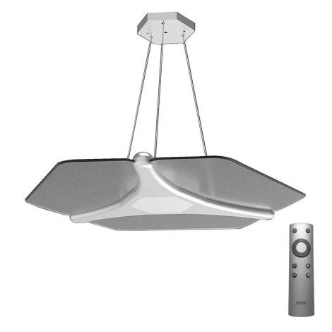 Dalen DL-2S Plus D Silver - LED Lustră pe cablu cu telecomandă POLLY 1xLED/56W/230V