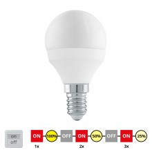 EGLO 11584 - Bec LED dimmabil ciclic E14/6W/230V - STEPDIMMING neutru